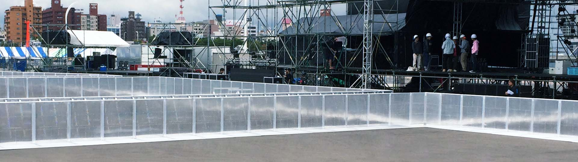 Concert Barrier & Road Barrier Project Shows
