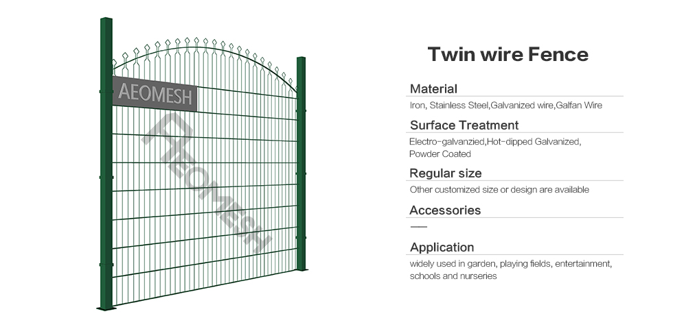 Twin wire Fence / Double Wire Fence